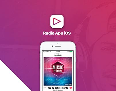 Radio App iOS