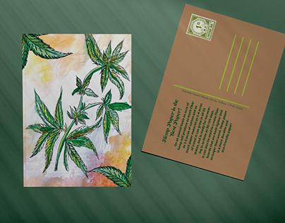 Hemp Postcard Design