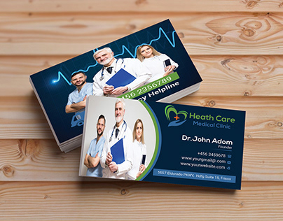 Medical Business Card ( Part 2 )