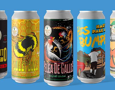 Buena Vista Brewing Co. - Beer Can Labels