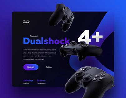 Concept Dualshock for free marathon of Yudaev.School