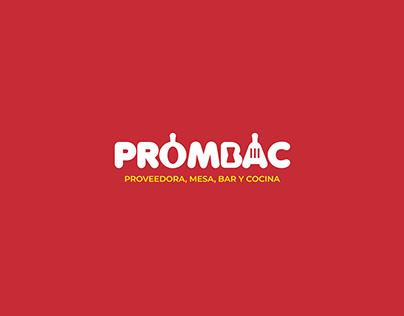 Prombac - logo + brand