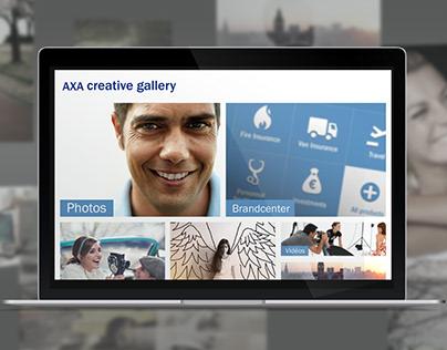 AXA creative gallery