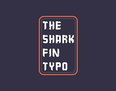 Free The Shark Fin Typo Sans Serif Font