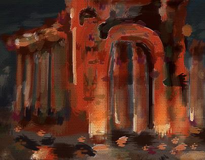 Palmyra - Digital painting