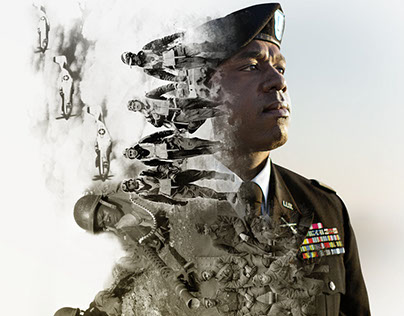 African Americans in the U.S. Army Poster Concept