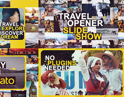 Travel Opener Slideshow | After Effects Template