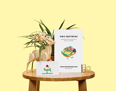 Illustration design for food Flyer