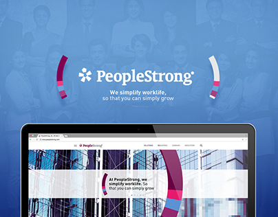 PeopleStrong :: Responsive Website Design