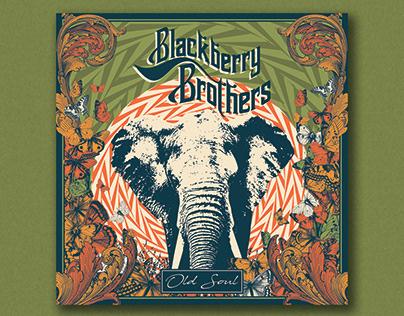 Blackberry Brothers - Old Soul / digipack artwork