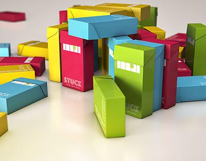 STUCK Toothpicks // Branding & Packaging