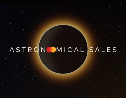 Astronomical Sales by Mastercard
