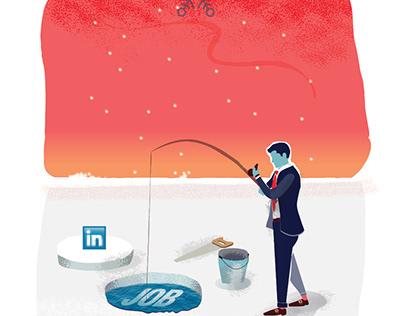 Linkedin: HR seeking
