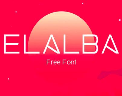 ELALBA - FREE DISPLAY FONT