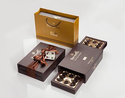 Bernotti Chocolate Packing Photography