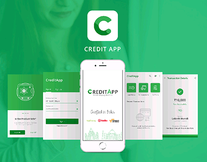 Credit App_Cash Transaction App UI/UX Design