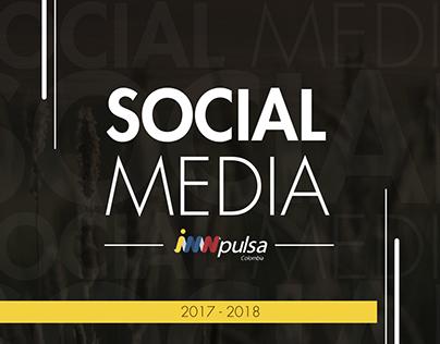 Social Media iNNpulsa Colombia 2017 - 2018