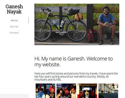 Website Design - Ganesh Nayak