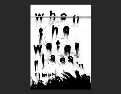 when the water rises – Poster