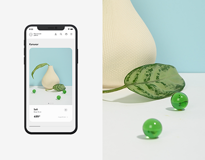 Handmade vases — Landing Page