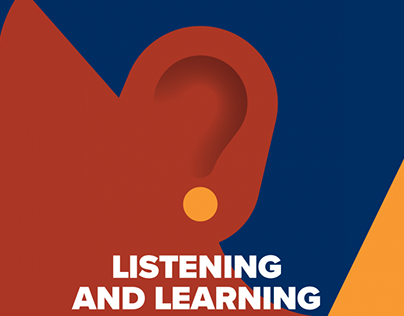 Listen and learning. The Osteopath cover