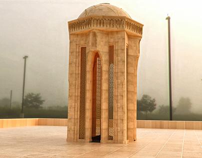 Shahidlar Monument 3D