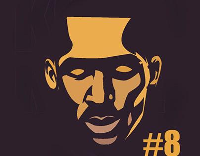 Kobe bryant Cartoon vector