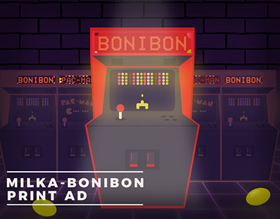 Milka - Bonibon Print Ad