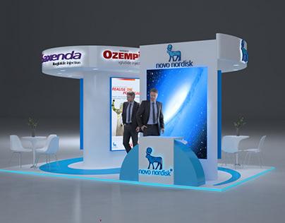 Saxenda Ozempic ICFM booth