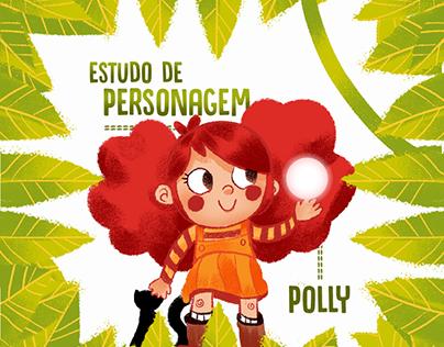 Pollyana | Estudo de Personagem