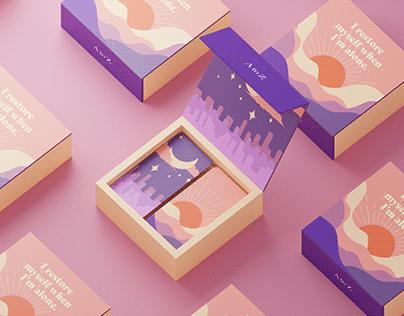 Packaging Design Comfort Card