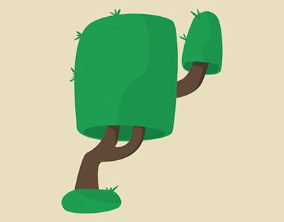 Tree Minimal Design