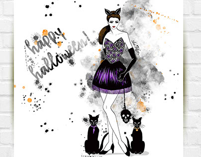 Fashion Illustration III _ Hand draw