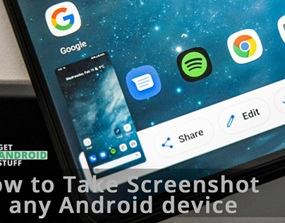 How To Screenshot Android - SBMHowTo
