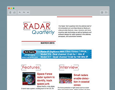 Radar Quarterly Newsletter