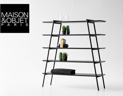 Bookcase from the DUOO collection for Zegen