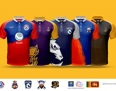 Lanka Premier League jersey designs