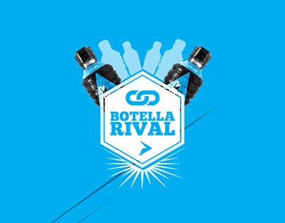 Powerade: Botella Rival
