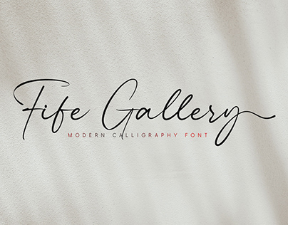 Free | Fife Gallery Font