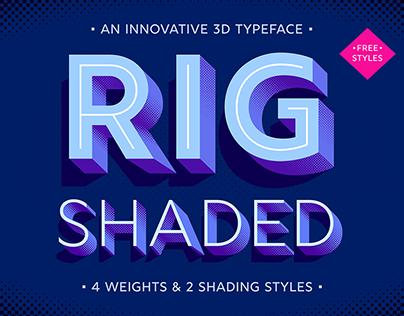 Award-Winning Font: Rig Shaded