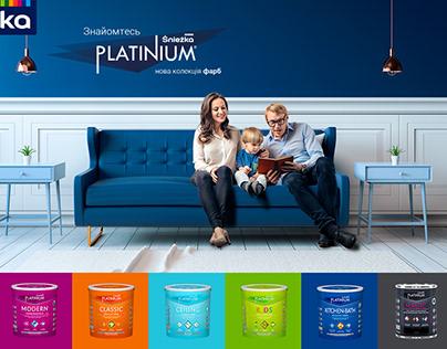 Śnieżka Platinium campaign