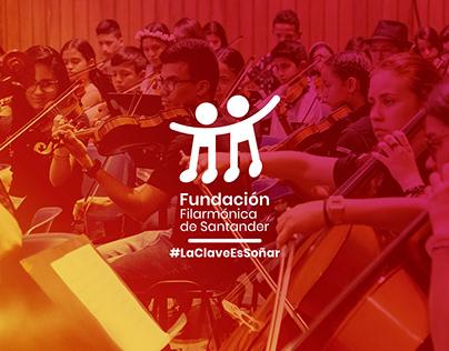 Fundación Filarmónica de Santander (Brand Design)