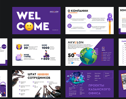 Welcome business presentation