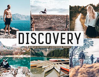 Free Discovery Mobile & Desktop Lightroom Preset