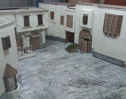 Old Damascene neighborhood Model