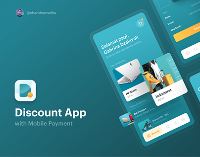 Discount App (UI/UX) with Mobile Payment