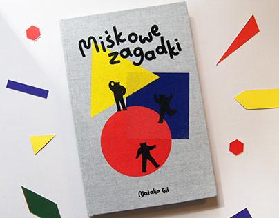 Miśkowe zagadki book design