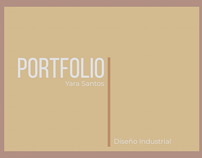 Portfolio 2019 - Yara Santos