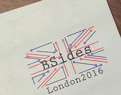 Logo winner - BSides London 2016 - Graphic design