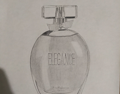 Desenho a Grafite - Perfume Elegance